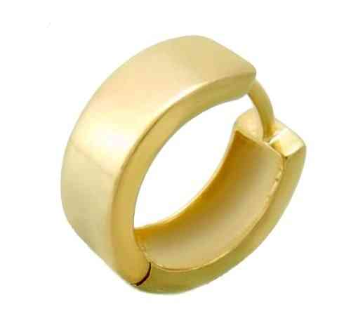 15x6mm Single - Creole, gelbgold 333  Gold